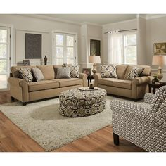 Simmons Upholstery Beachfront Froth Queen Sleeper (1691 04QE Beachfront  Beige Queen Sleeper) (