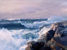 Great lesson on seascape painting from Stapleton Kearns