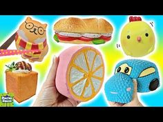Cutting OPEN Kawaii Squishy Toys! Surprise TOYS Inside! Slow Rising Scented Squishy Doctor Squish - YouTube