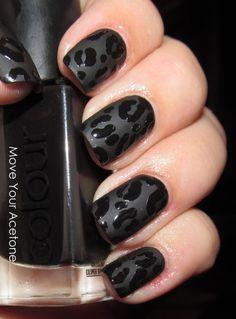 Black matte leopard rawr!