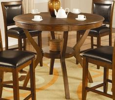 Swanville Counter Height Dining Table in Brown Walnut by Coaster Home Furnishings, http://www.amazon.com/dp/B007B71MES/ref=cm_sw_r_pi_dp_gk4Lqb1CE6GQ1