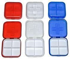 Square-Pill-Box-Reminder-Holders-Medicine-Pills-Boxes-Tablets-Pocket-Purse-Bag