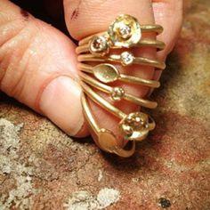 #diamantring #diamondring #samlering #stackring #milasjewellery #milas