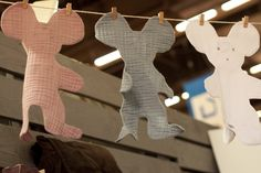 Numea bear comforters - French Touch for kids -Comfort blankets - Maison et Objet September 2014