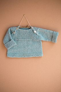 This little sweater is the result of a silly challenge I set myself the day before a scheduled photoshoot with a newborn. That adorable sleepy stage is fleeting and new parents have enough to deal with without me showing up constantly, camera in hand, and a bag full of outfits. Could I knit just one more sweater in a day? I could. I wouldn't necessarily recommend that you do the same, but even if it takes a little more than one day, Envelope makes a great fast gift.