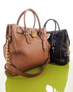 black or the white one ;) Hamilton Large Tote Bags by MICHAEL Michael Kors at Neiman Marcus.