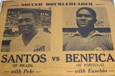 Pelé vs Eusébio