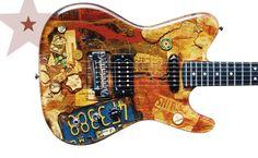 Spalt Guitars - Rare Guitars - Rare Star Guitars | Rare Star Guitars