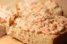 Tuniaková nátierka s mrkvou