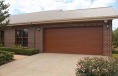 Residential panel lift garage door installation Queensland Roller Doors Brendale