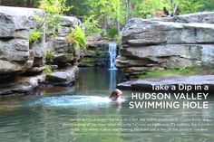 Take a Dip in a HUDSON VALLEY SWIMMING HOLE