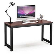 "Tribesigns Computer Desk, 55"" Large Office Desk Computer ... https://www.amazon.com/dp/B01N33P85V/ref=cm_sw_r_pi_dp_x_dMWZybYJ3YZ9J"