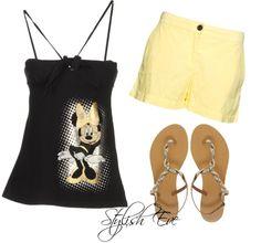 Mickey & Minnie Outfits 2014 for Women - Stylish Eve Outfits 2014, Hot Outfits, Disney Outfits, Summer Outfits, Disney Clothes, Summer Clothes, Short Women Fashion, Tween Fashion, Diva Fashion
