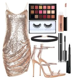"""Untitled #586"" by natalia-tommo ❤ liked on Polyvore featuring Giuseppe Zanotti, Chanel, Huda Beauty, MAC Cosmetics and Humble Chic"