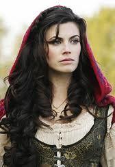 Meghan ory. I want my hair dark.