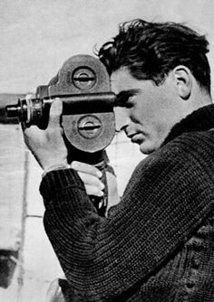 Robert Capa (1913-1954) Hungarian war photographer and photojournalist of 5 wars: Spanish Civil War, 2nd Sino-Japanese War, World War II across Europe, 1948 Arab-Israeli War, and 1st Indochina War. In 1947, he co-founded Magnum Photos with Henri Cartier-Bresson and others, the first and only, cooperative agency for worldwide freelance photographers. He died after stepping on a landmine in Vietnam while covering a French advance