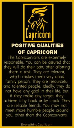 Everything Capricorn