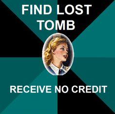 Nancy Drew Meme- Tomb of the Lost Queen