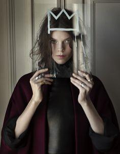 Basquiat crown x oxblood