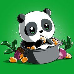Baby Po t-shirt Kung Fu Panda TeeTurtle