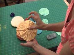 Sew Easy Lesson: Yo-Yos - YouTube #YoYo's