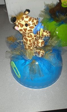Safari baby Shower centerpiece!