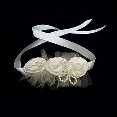 Satin With Imitation Pearl / Flower Women's Headbands – USD $ 3.99