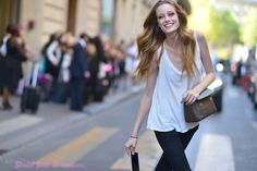 La sortie des #mannequins rue Cambon défilé #hautecouture Ralph & Russo #modeloffduty #modelinthestreet #shootphoto by http://ift.tt/1Jf8Gu8#offduty #streetstyle #PFW#fashionweek