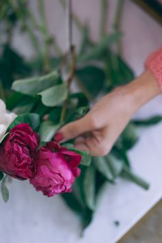 Gal Meets Glam Pink Flowers