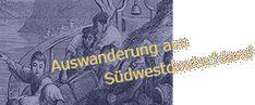 Logo: Auswanderung aus Südwest-Deutschland