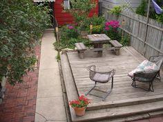 small backyard patio ideas - Google Search