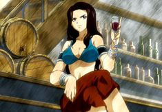 fairy+tail+cana   Cana, as she first appeared in the anime