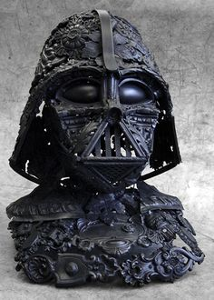 Darth Vader Sculpture - Alain Bellino