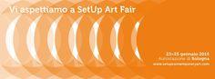 Vi aspettiamo a Set Up Art Fair ed. 2015!  http://www.setupcontemporaryart.com/espositori/