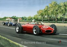 Ferrari Sharknose - Giancarlo Baghetti 1st. win at Syracuse 1961 - Classic cars