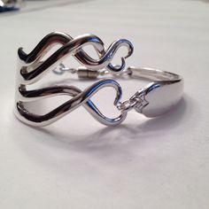 Antique fork bracelets from Shecre8s