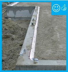 Right – Slab insulation extends to the top of the slab Concrete Pad, Insulation, Space Saving, Engineering, Organization, America, Building, Getting Organized, Organisation