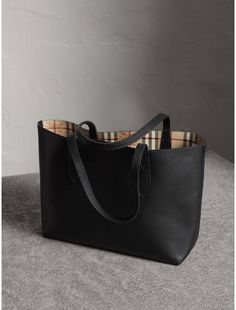 74e14a4a7b6e Purses · Burberry The Small Reversible Tote in Haymarket Check and Leather.   reversibletote  burberry