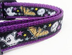 Boo  Dog Collar by StinkyandSweetPea on Etsy, $16.00