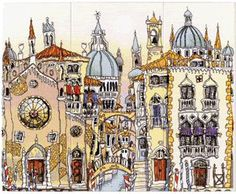 Venice Palazzo - all three together, Michael Powell