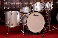 eric singer 39 s drum kit from the tour kiss pinterest drum kit drums and drummers. Black Bedroom Furniture Sets. Home Design Ideas