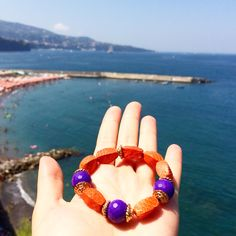 Good morning Sorrento ☀️ Let's start the day with colours of @princybijoux #python #bracelets and amaizing #sorrentocoast #view  #goodmorning  #home  #summer  #cool #iphonesia  #instalike  #girls  #picoftheday  #instamood  #fashion  #stylish  #princybijoux #vogue  #glamour #luxury #bijoux #orecchini  #igersitaly #sea #bijoux #fashionista #moda #outfit #igerssorrento #sorrento #wakeup #breakfast www.princyshop.com