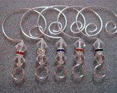 Bead Ornament Hangers Hooks