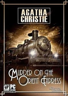 Agatha Christie. One of the very first books I read before seeing the movie. :)