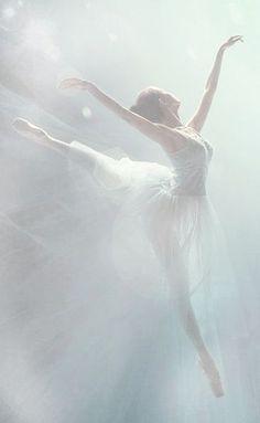 Danseuse telle un ange