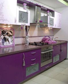 10 Purple Kitchen Cabinets Ideas Purple Kitchen Purple Kitchen Cabinets Kitchen Cabinets