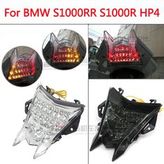 For BMW S1000RR S1000R HP4 13-15 Motorcycle Integrated LED Brake Tail Light Turn Signals Blinker #Affiliate