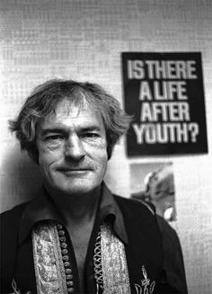 Timothy Leary, Harvard psychologist famous for his experiments and advocacy of LSD (which was legal at the time, circa 1960). Perhaps the oldest hippie of them all, his voice was one of the most noted ones of the hippie movement.