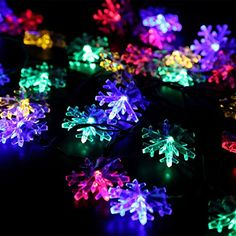 Solar String Lights,ideality 30led 20ft 2modes Waterproof Solar Powered Fairy String Lights Snowflake Ambiance Lighting for Parties,gardens,outdoor,home,holiday Decorations, Christmas Tree Decorations Ideality http://www.amazon.com/dp/B0179NFQQI/ref=cm_sw_r_pi_dp_Wahowb1N9D9D5