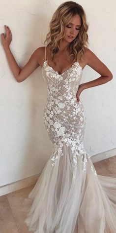 Sweetheart mermaid wedding dresses, sexy party dress Romantic Tulle Appliqued A-line Wedding Dresses With Chapel Train - best wedding dresses to celebrate - lindos vestidos de novia - Backless Wedding, Sexy Wedding Dresses, Sexy Party Dress, Bridal Dresses, Wedding Gowns, Elegant Dresses, Maxi Dresses, Lace Wedding, Summer Dresses